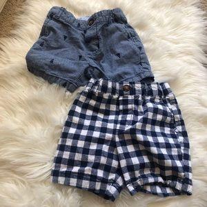 Carter's baby boy short bundle